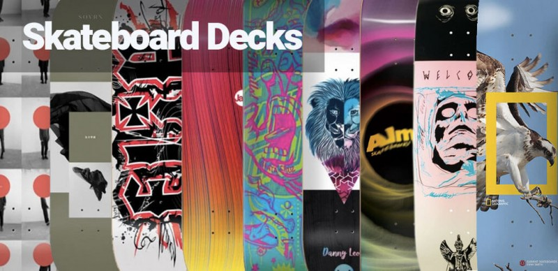 zu den Skateboard Decks