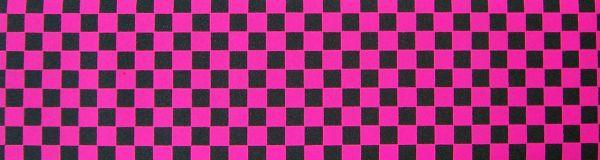 Black Diamond Skateboard Griptape checkered pink