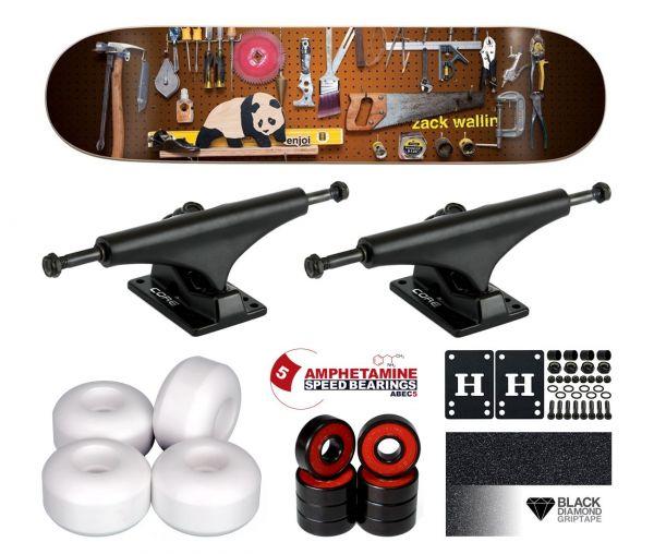 Enjoi Premium Panda Wallin Komplett Skateboard 8.125