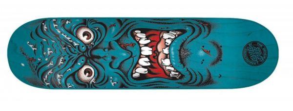 Santa Cruz Rob Face Blue Skateboard Deck 8.0