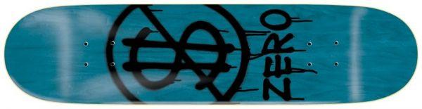 Zero Hardluck Black PP Skateboard Deck 8.25