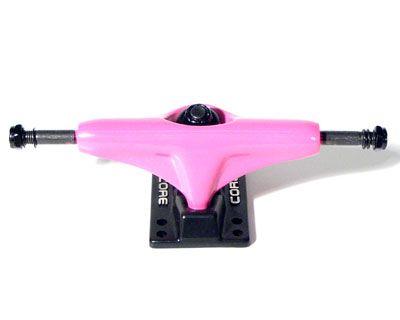 Core Trucks Skateboard Achse pink/schwarz 5.0