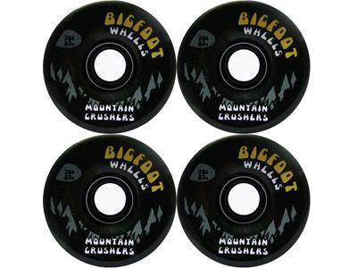 Bigfoot Mountain Cruiser Longboard Wheels Black 76mm 80a