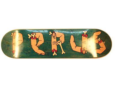 Perus Finger Skateboard Deck 8.0