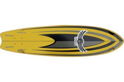 Dregs Ditch Surf Longboard Deck 37 x 9.5