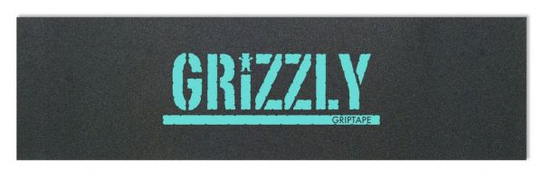 Grizzly Griptape black with blue print