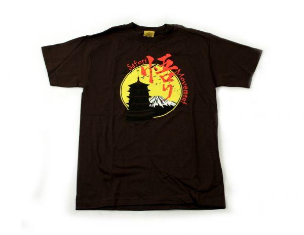 Satori T-Shirt Pagoda Sun brown S