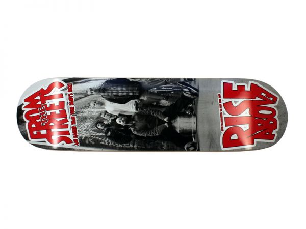 Rise Above Deck Gang Skateboard Deck 8.25