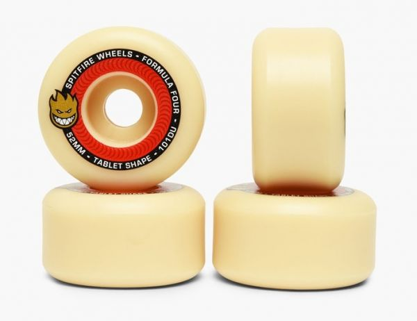 Spitfire Skateboarad Wheels F4 Tablets 101a 52mm