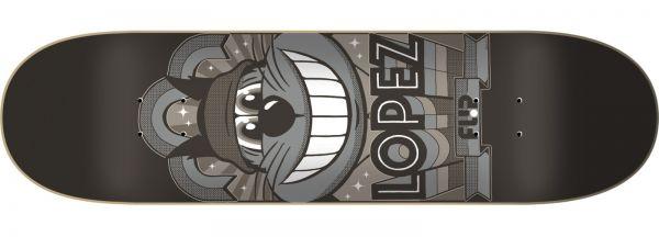 Flip Lopez Gallery Skateboard Deck 8.25