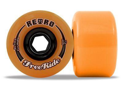 Retro FreeRides Orange 86a 72mm