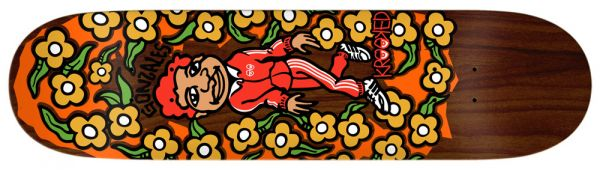 Krooked Gonz Sweatpants Skateboard Deck 8.5