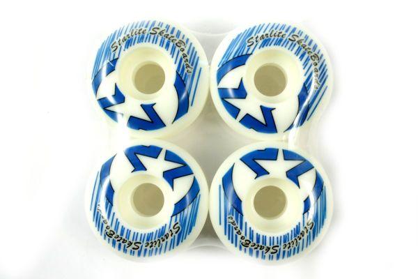 Starlite Skateboard Rollen Blau 52mm