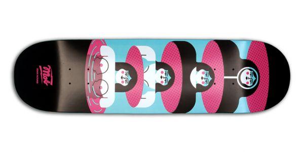 MOB Skateboards Capsule Deck 8.5