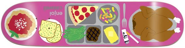 "Enjoi Caswell Berry Last Meal Resin7 Skateboard Deck 7.75"""