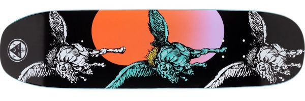 Welcome Peggy Son of Moontrimmer Skateboard Deck 8.25