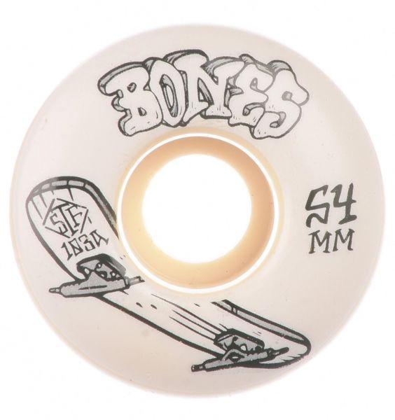 Bones Wheels Skateboard Rollen STF Heritage Boneless 103A V1 54mm