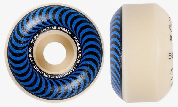 Spitfire Skateboard Rollen F4 Classic Blue 99A 56mm