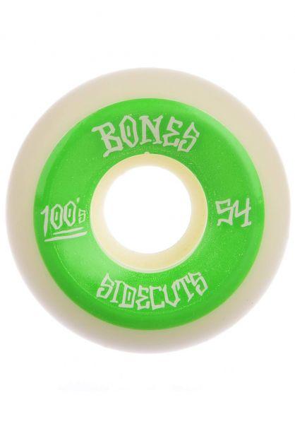 Bones Wheels Skateboard Rollen 100´s OG 2 V5 100A 54mm White