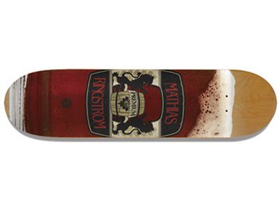 Premium Lager Pro Mathias Ringstrom Skateboard Deck 7.5