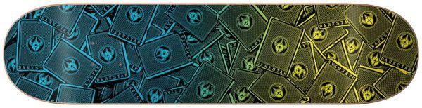 Darkstar Team Cards Skateboard Deck 7.75