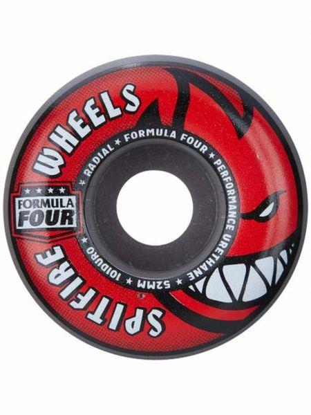 Spitfire Skateboard Rollen F4 Radials Grey Red 101A 54mm