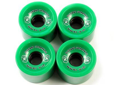 Bigfoot Stalkers Longboard Wheels Green 70mm 81a
