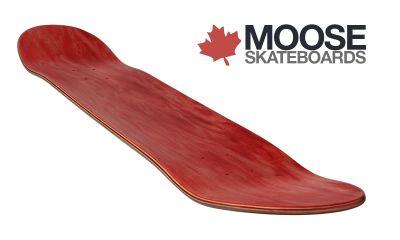 Moose Blank Skateboard Deck Mid