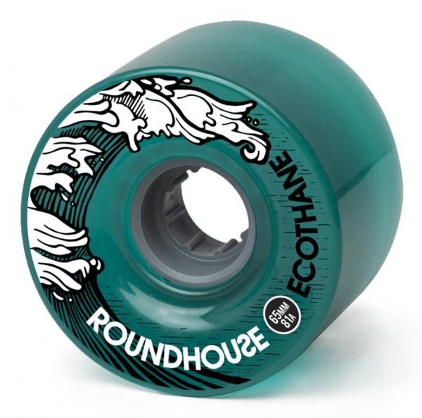 Carver Wheels Roundhouse ECO Mag Aqua 65mm 81a