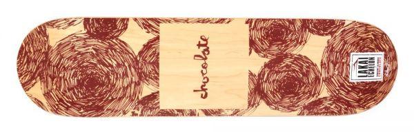 Chocolate Alvarez Lakai Echelon Select Skateboard Deck 7.875