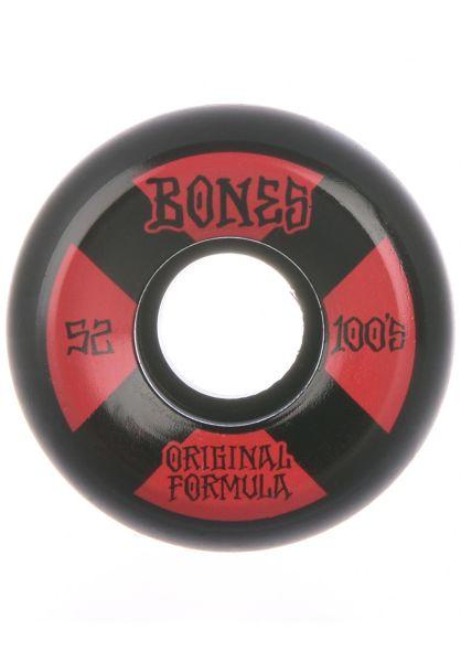 Bones Wheels Skateboard Rollen 100s OG#4 Sidecut 81B V5 52mm