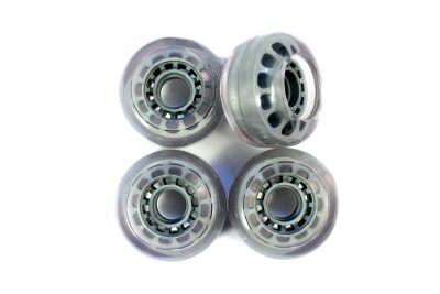 Blank Longboard Wheels Clear Core 78A 70mm