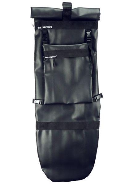Brettretter Skateboard Crossbag 2.0 schwarz / schwarz