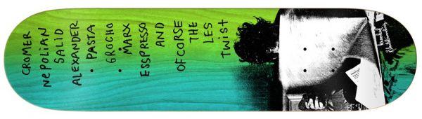 Krooked Cromer Zirox Poems Skateboard Deck 8.18