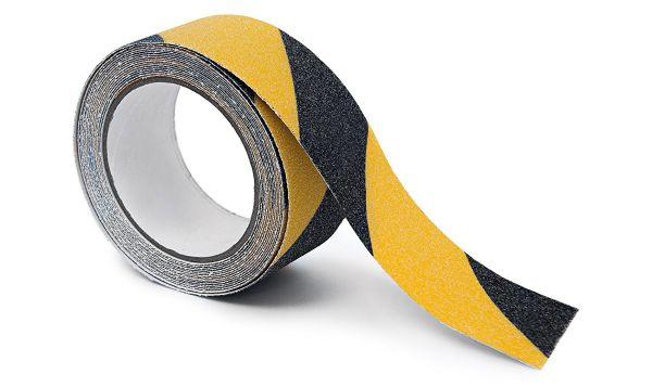 Black Diamond Skateboard Griptape Rolle Caution 3cm