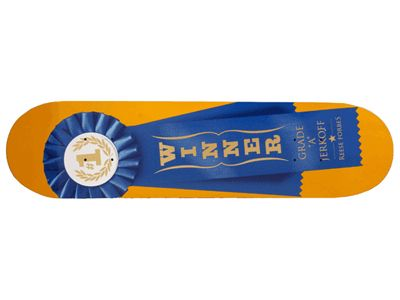 SALE Skate Mental Forbes Ribbon Skateboard Deck 7.87