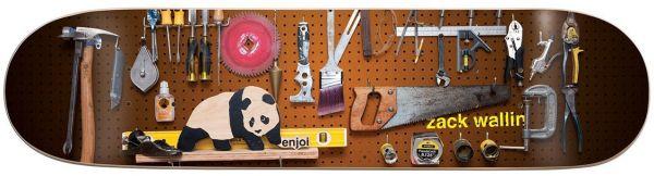 Enjoi Premium Panda Wallin Skateboard Deck 8.125