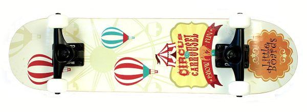 Little Boards Circus Complete Kinder Skateboard 7.0