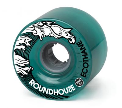 Carver Wheels Roundhouse ECO Mag Aqua 70mm 81a