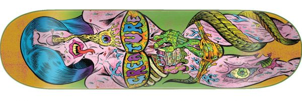 Creature Bods Everslick Tiffany Skateboard Deck 8.5