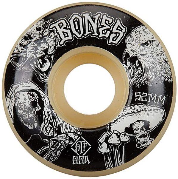 Bones Wheels Skateboard Rollen STF Night Watch Easy Streets 99A V1 52mm