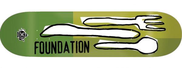 Foundation Forks Reissue 30 Years Skateboard Deck 8.0