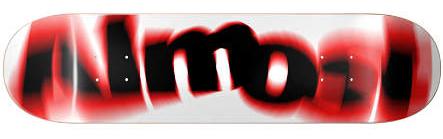 Almost Team Spin Blur Skateboard Deck 7.75