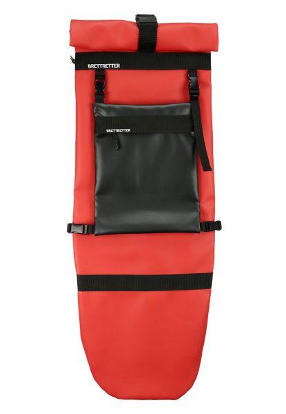 Brettretter Skateboard Crossbag 2.0 rot / schwarz
