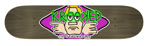 Krooked Team Arketype Skateboard Decks 8.25