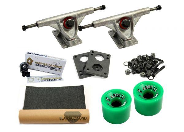 Amok Downhill 180 Raw Pro Longboard Achsen Set