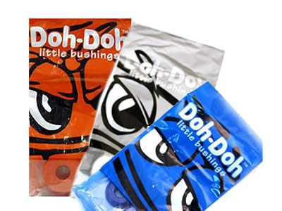 "Doh-Doh Bushings black 100a ""Rock Hard"""