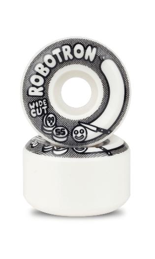 Robotron Skateboard Rollen Wide Cut 55mm