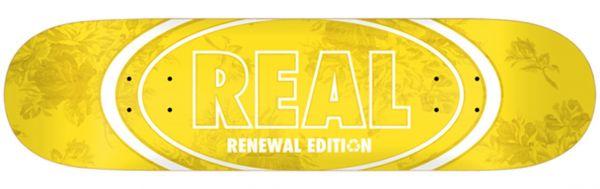 Real Team Floral Renewal #2 Skateboard Deck 7.75