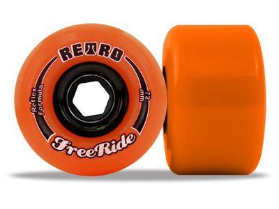 Retro FreeRides Orange Plus 89a 72mm